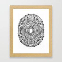Pulse Framed Art Print