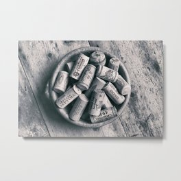 Collection of Corks. Metal Print