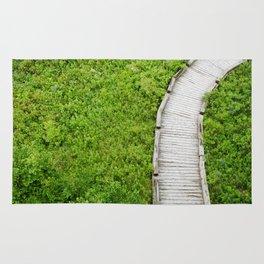 Footpath of Nature Rug