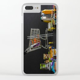 Click And Collect Clear iPhone Case