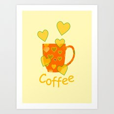 Coffee Fanatic Art Print