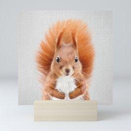 Squirrel 2 - Colorful Mini Art Print