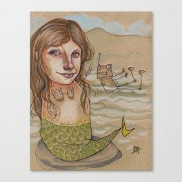 ROBOT SIREN Canvas Print