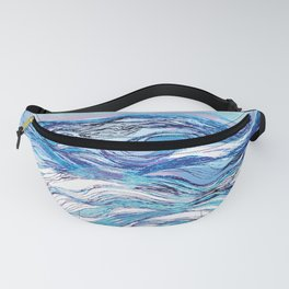 The ocean waves 2 Fanny Pack
