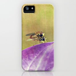 Dance of the Hoverfly iPhone Case