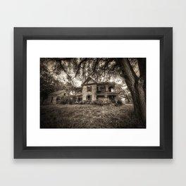 House of Horrors Framed Art Print