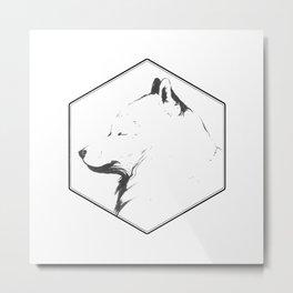 Canine Republic : Samoyed Metal Print