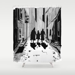 Oliver's Fate Shower Curtain