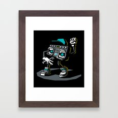 Beatbox Boombox2 Framed Art Print