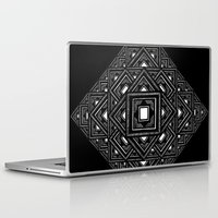 text Laptop & iPad Skins featuring text by madelyn anthony