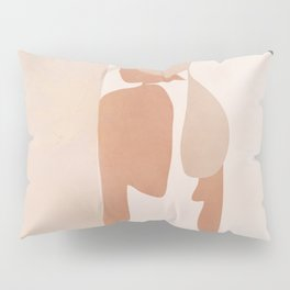 Abstract Woman in a Dress Pillow Sham
