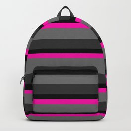 Beautiful neon stripe Backpack