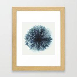 Forest world Framed Art Print