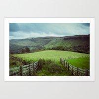 Glens of Antrim Art Print