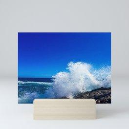 Waves Crashing Mini Art Print