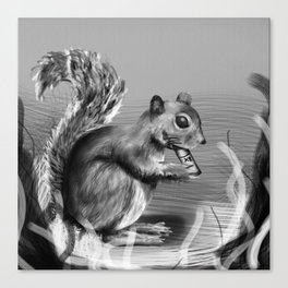 Rx Squirrel  Canvas Print