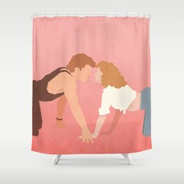 Nobody Puts Baby In A Corner (Dirty Dancing) Shower Curtain