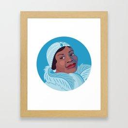 Queer Portrait - Bessie Smith Framed Art Print