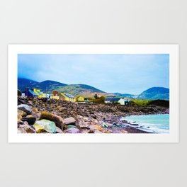 Costal Irish Village Art Print