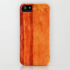 Brown Texture Slim Case iPhone (5, 5s)