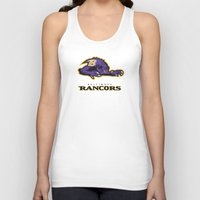 nfl Tank Tops featuring Baltimore Rancors - NFL by Steven Klock