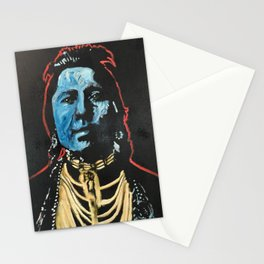 Chief Thundercloud Stationery Cards