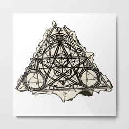 Imperfect Symmetry Metal Print
