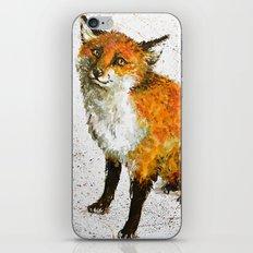 Cute fox iPhone & iPod Skin