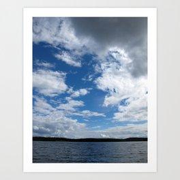 Lake Duborne Art Print