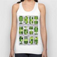 grass Tank Tops featuring Grass by Yukska