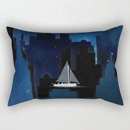 City Sailing Rectangular Pillow