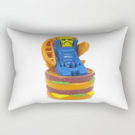 Big Burger Robot Rectangular Pillow