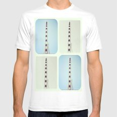 Seattle Dreaming Mens Fitted Tee MEDIUM White