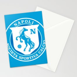 Naples Horse Football badge Stationery Cards