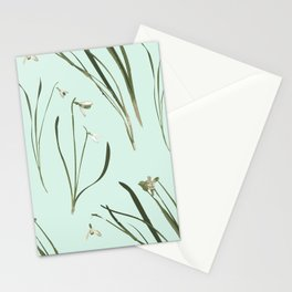 GALANTHUS IN MINT Stationery Cards