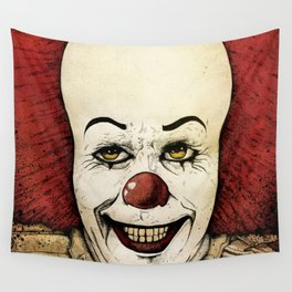 It - Pennywise (Color Version) Wall Tapestry