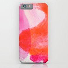 Orange Ink iPhone 6s Slim Case