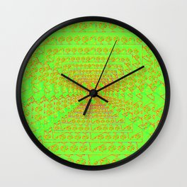 Perspective-pattern Wall Clock