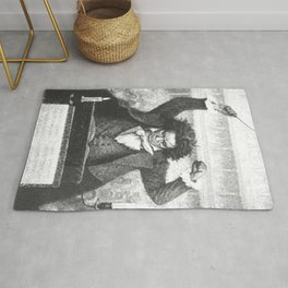 Beethoven 250th anniversary Rug