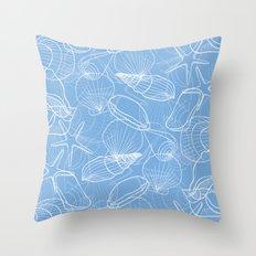 Shells Pattern Throw Pillow