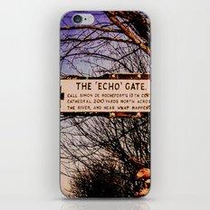 Echo Gate iPhone & iPod Skin