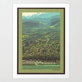 Port Angeles, WA Art Print