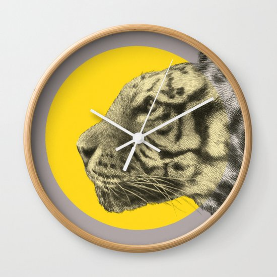 Wild 4 by Eric Fan & Garima Dhawan Wall Clock