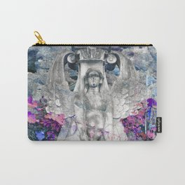 Sphinx in Roma - Violet Carry-All Pouch