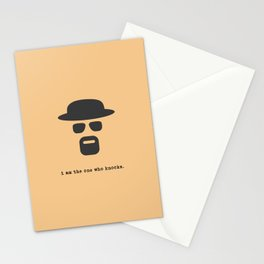 I am the one who knocks. Stationery Cards