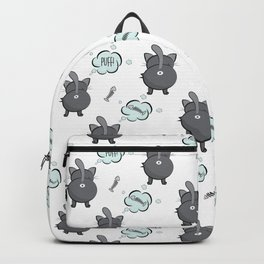 Cat fart Backpack