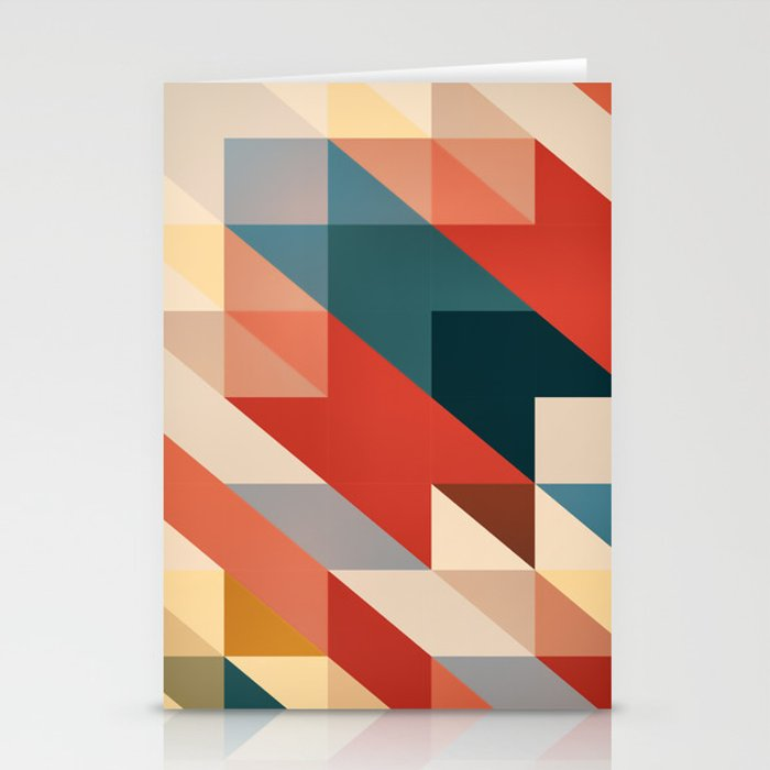 ABSTRACT 9D Stationery Cards