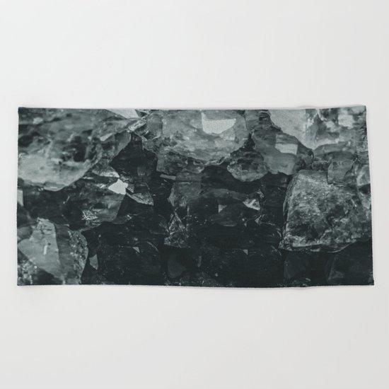Dark Crystal Beach Towel