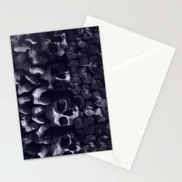 Skulls - Paris Catacombs, tinted version Stationery Cards