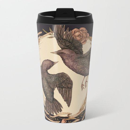 Starlings Metal Travel Mug